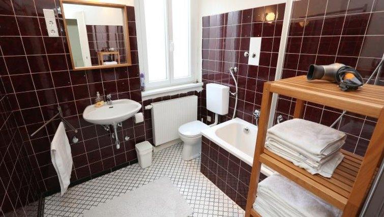 Bathroom in Nuremberg Apartments