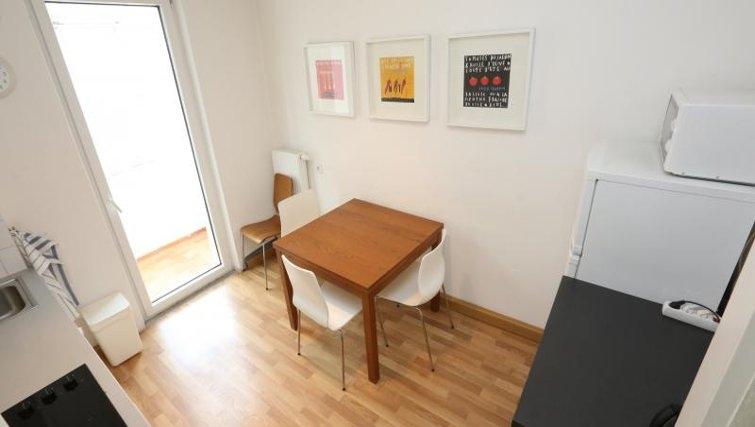 Dining area in Nuremberg Apartments