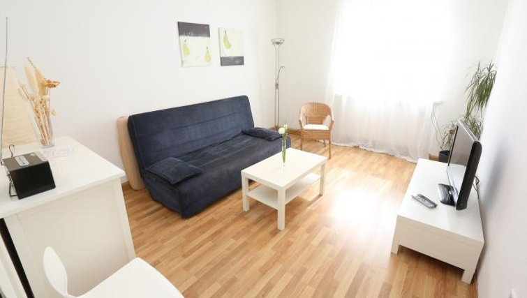 Living area in Nuremberg Apartments