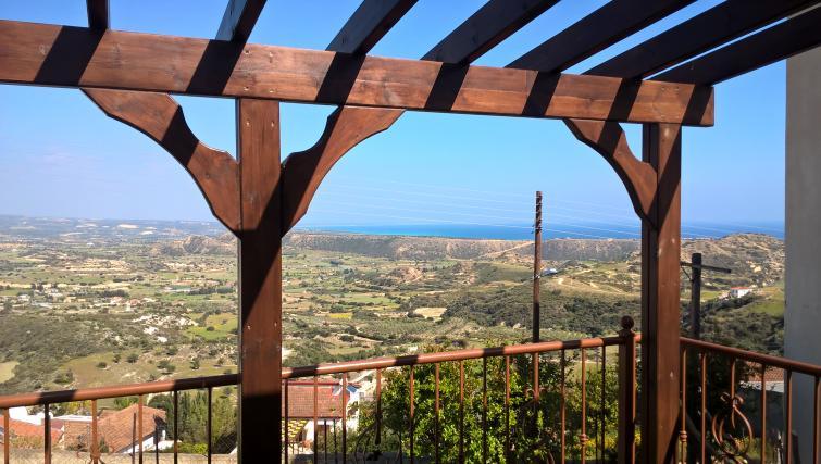 Balcony view at Patriko Village Home