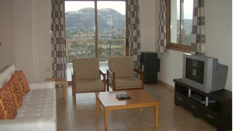 Spacious living area in Kamilostrata Apartment