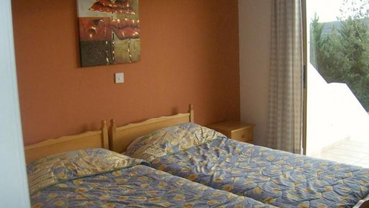 Memorable bedroom in Kamilostrata Apartment