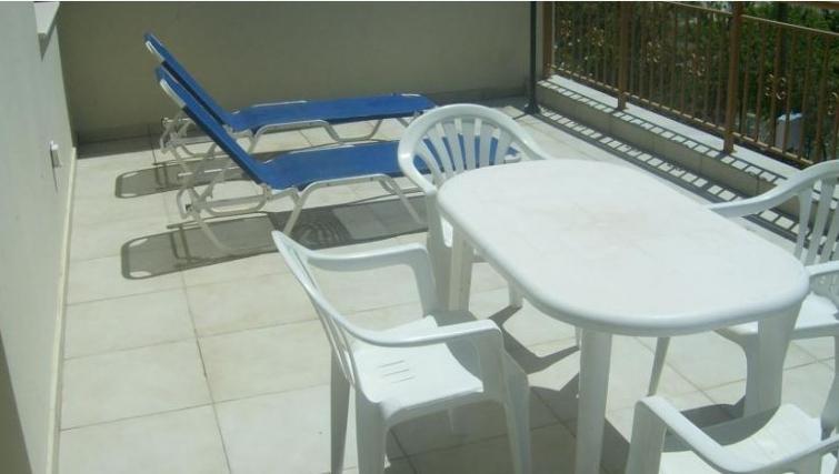 Tasteful balcony in Kamilostrata Apartment