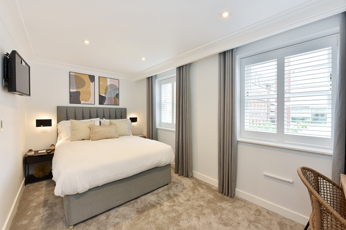 Bedroom at 42 James Street Apartments, Marylebone, London