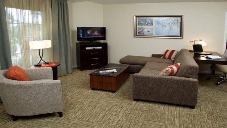 Outstanding bedroom in Staybridge Suites Torrance/Redondo Beach