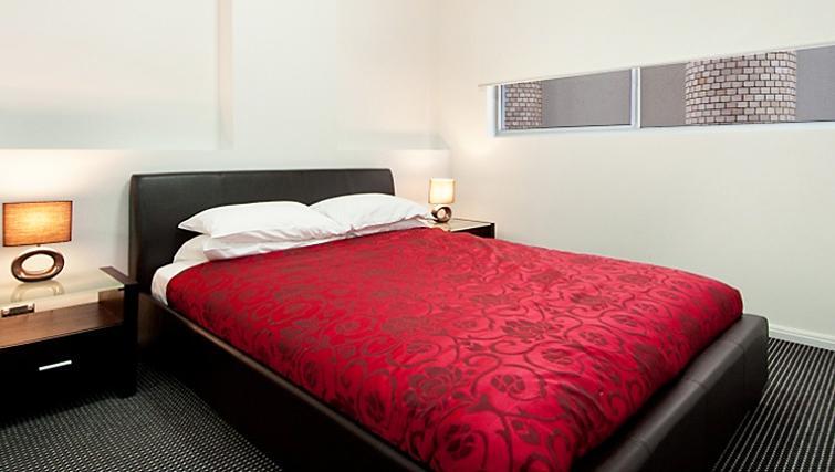 Serene bedroom in Astra Apartments North Sydney Miller Street