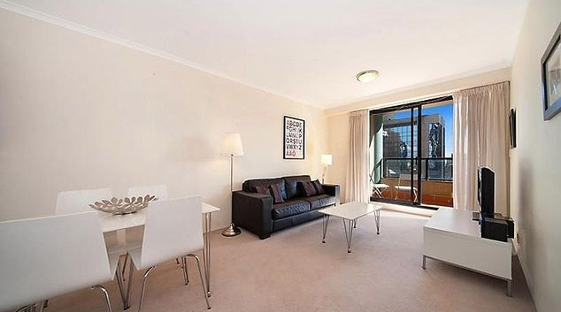 Spacious living area at Astra Apartments Sydney CBD Aston