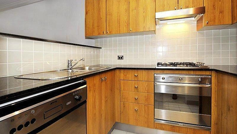 Fully equipped kitchen at Astra Apartments Sydney CBD Aston