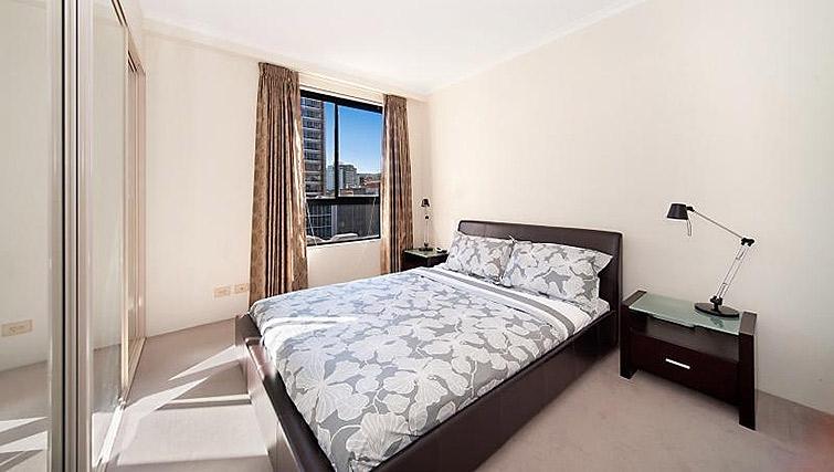 Comfy bedroom in Astra Apartments Sydney CBD Aston