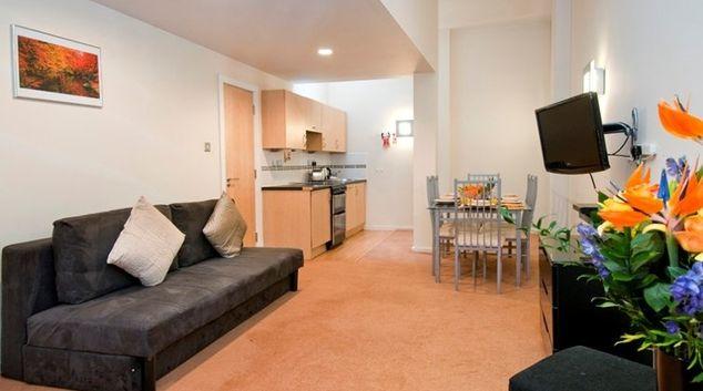 Open plan living room in Bayswater