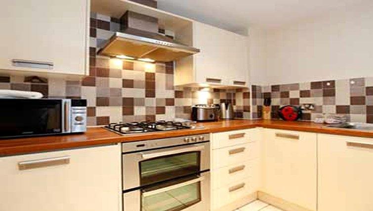Practical kitchen in Mandara Point Apartments