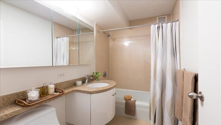 Ideal bathroom in Towers at Longfellow Apartments