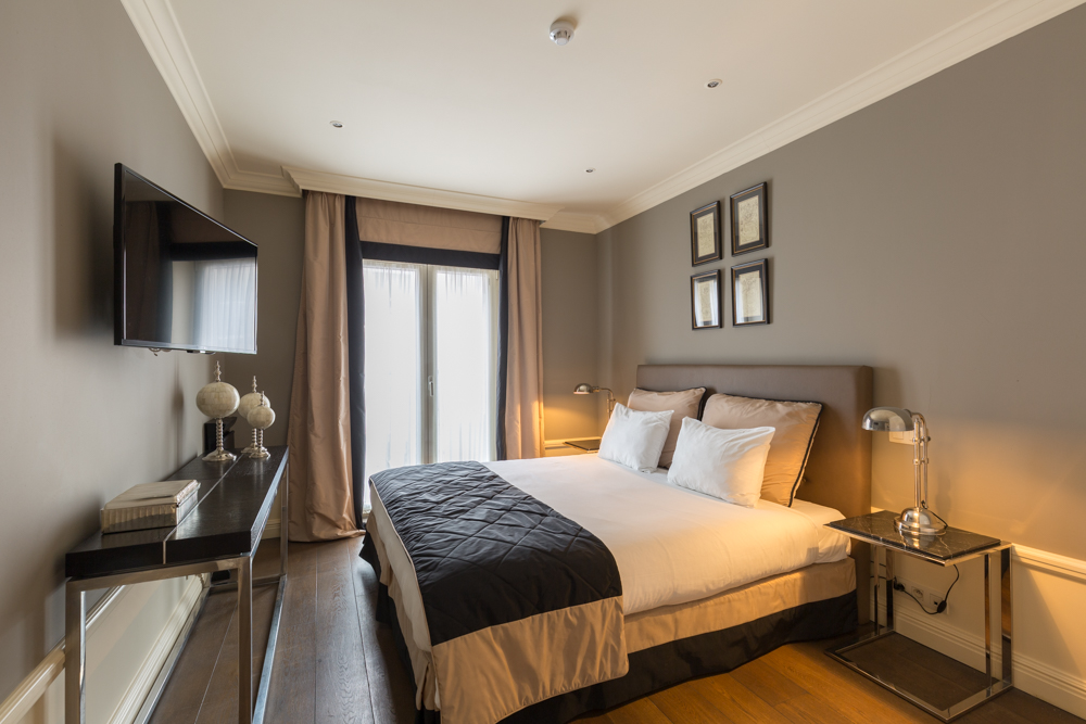 Bedroom at Stanhope Residence Apartments
