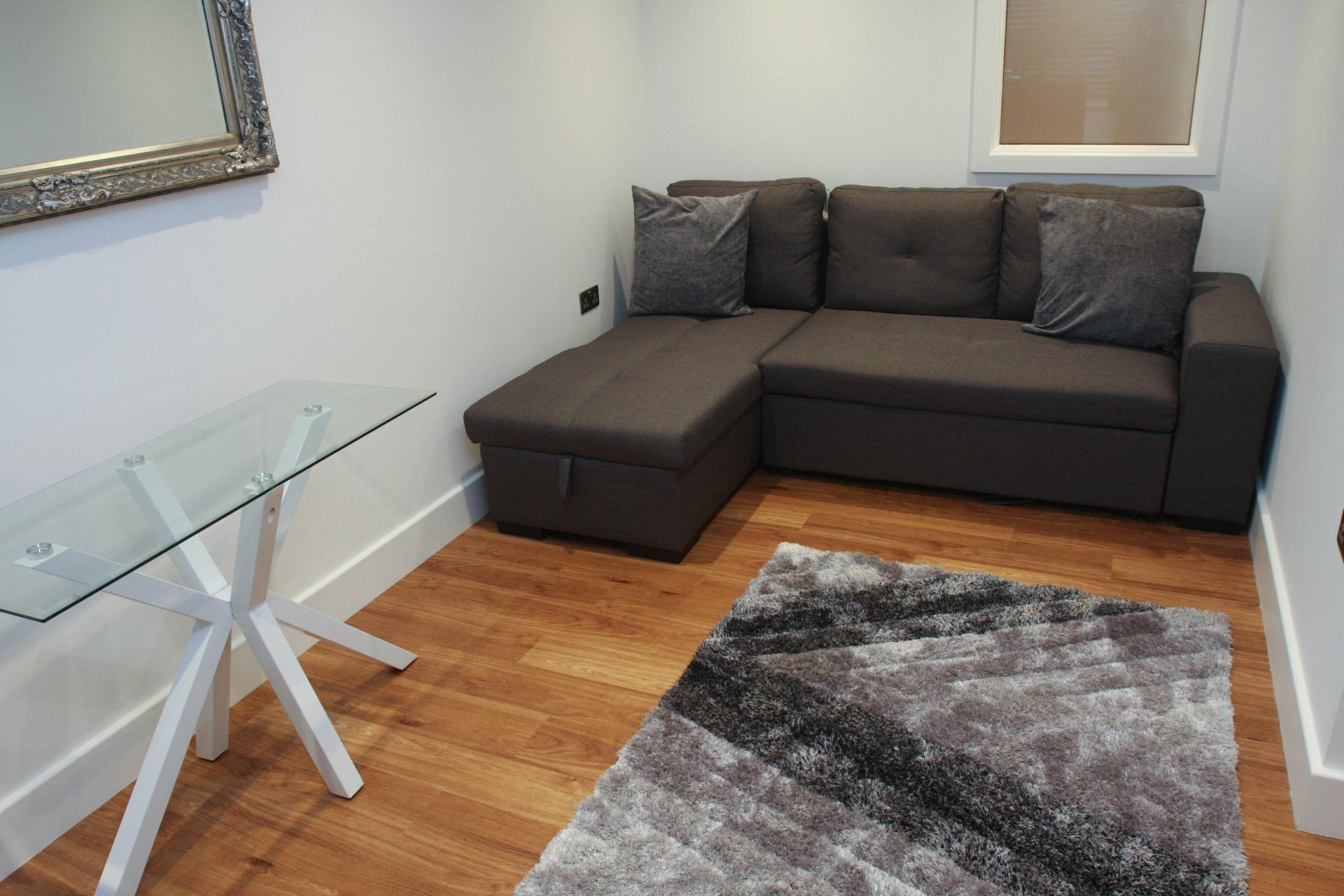 Sofa in Sheppards Yard