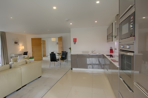 Kitchen at The Residence Apartments