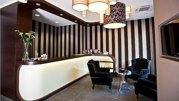 Stylish reception in Goodmans Living Apartments