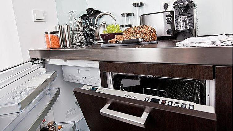 Dishwasher at Goodmans Living Apartments