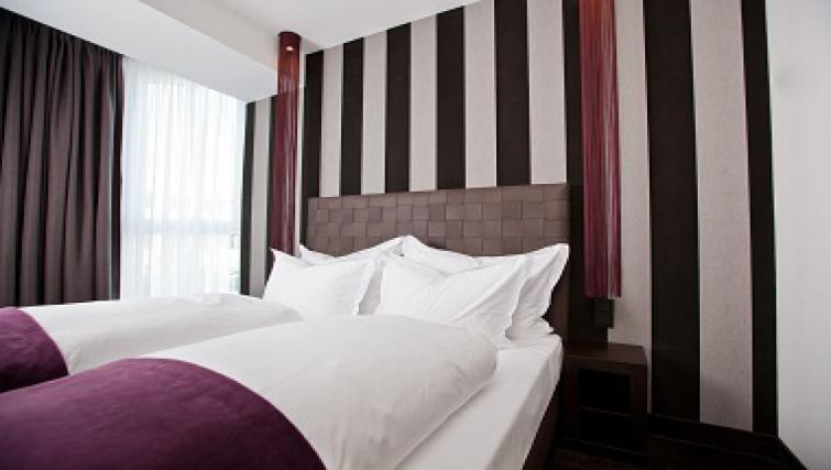 Cosy bedroom in Goodmans Living Apartments