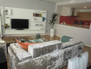 Living area at Barrio Salamanca Apartment