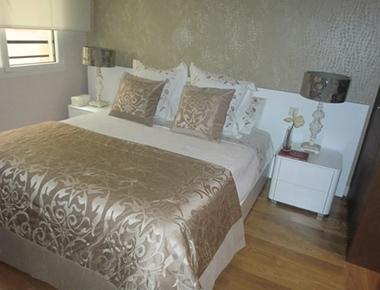 Bed at Barrio Salamanca Apartment