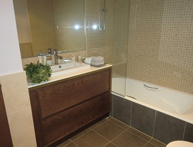 Bathroom at Barrio Salamanca Apartment