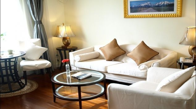 Elegant living area in Ladoll Serviced Apartment
