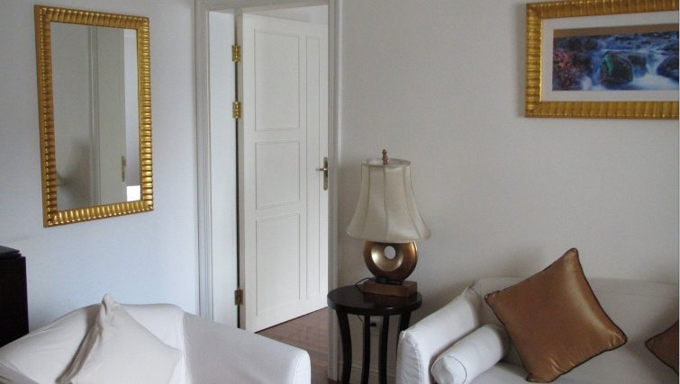 Modern living area in Ladoll Serviced Apartment