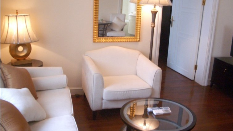 Classy living area in Ladoll Serviced Apartment