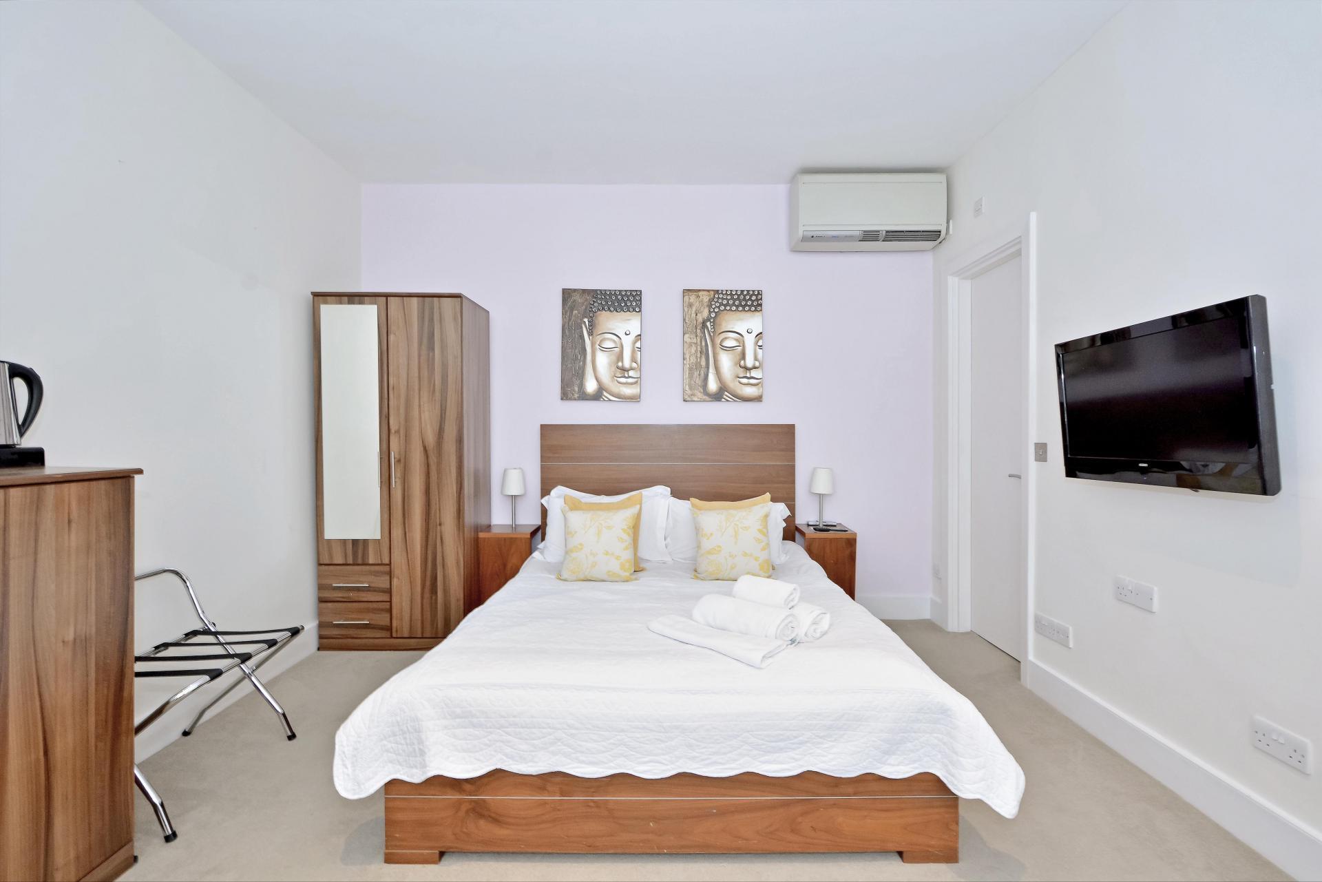 Sleep at LBS Apartments, Victoria, London