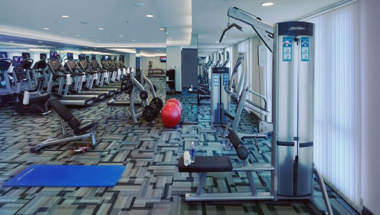 Gym at Somerset Greenways Apartments