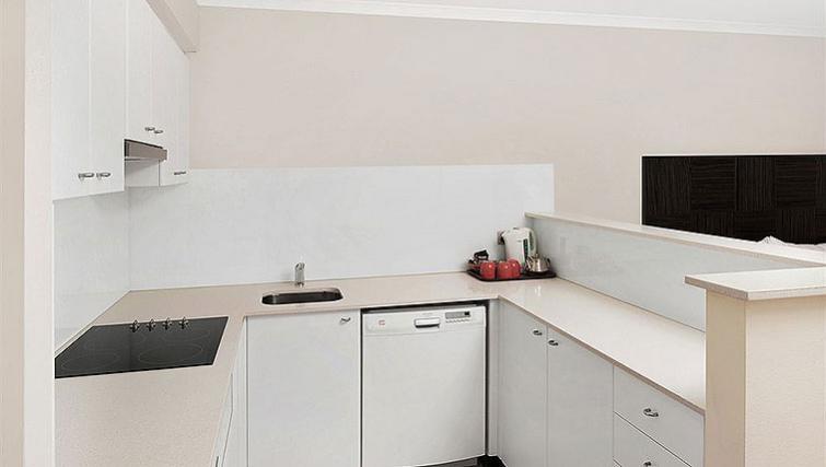 Pristine kitchen at Quest Manly