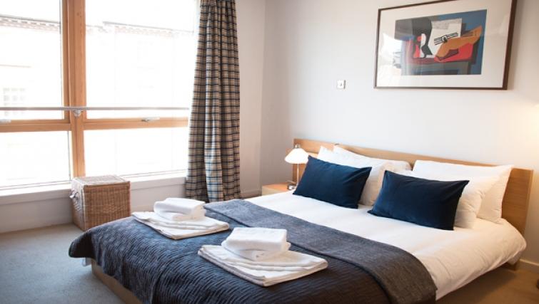 Bedroom at Exchange Apartments