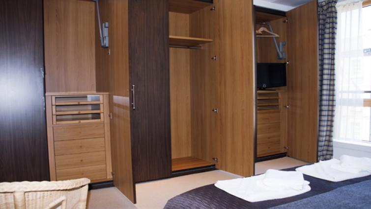 Wardrobes at Exchange Apartments
