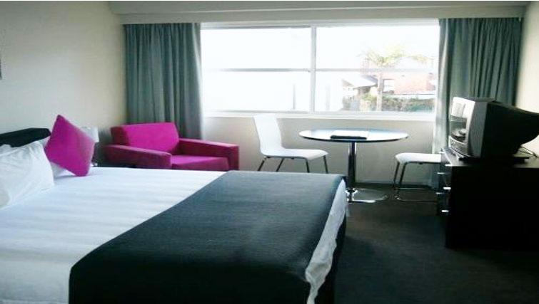 Attractive bedroom in Quest Ponsonby