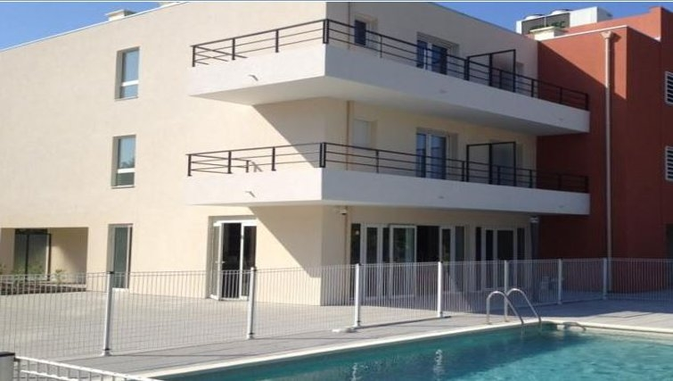 Attractive pool in Appart City Cannes Mandelieu