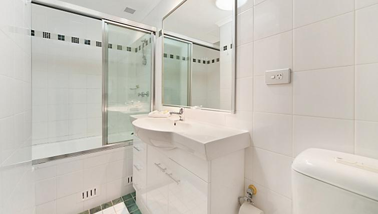 Pristine bathroom in Astra Sydney CBD Windsor on Kent