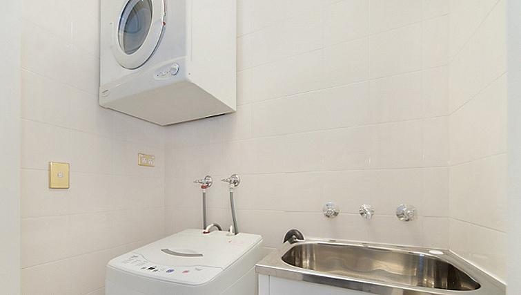 Laundry room at Astra Sydney CBD Windsor on Kent