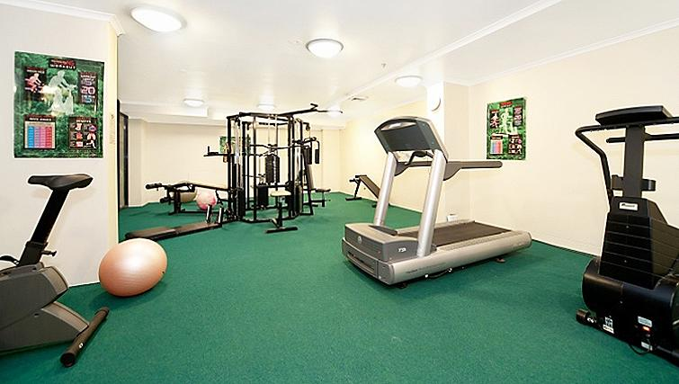 Equipped gym in Astra Sydney CBD Windsor on Kent