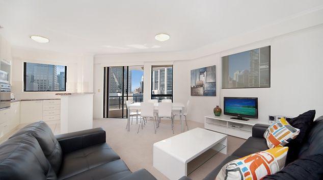 Living area at Astra Sydney CBD Windsor on Kent