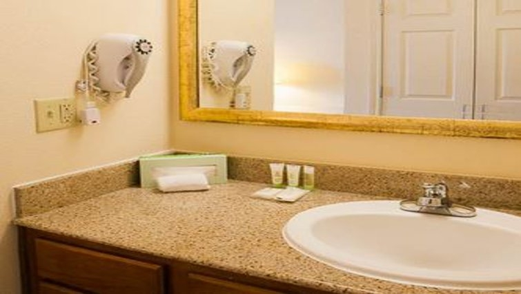 Practical bathroom in Staybridge Suites Houston West