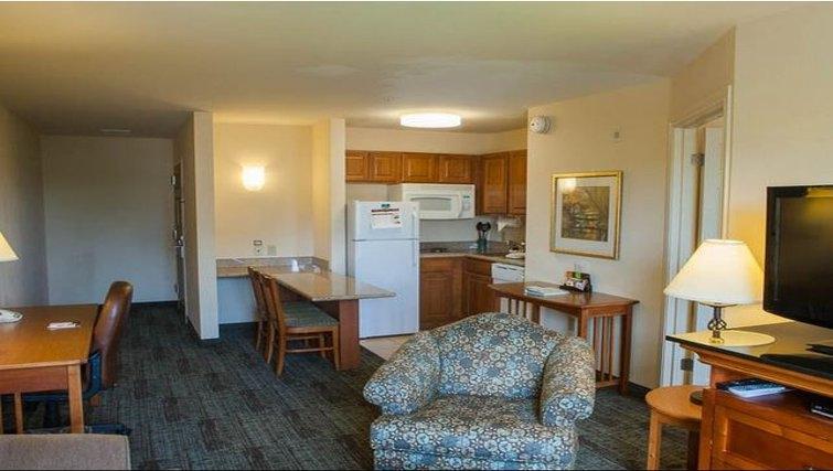 Cosy living area in Staybridge Suites Houston West