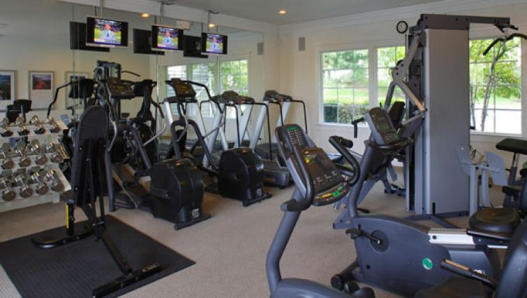 Fitness centre at AVE Malvern Apartments