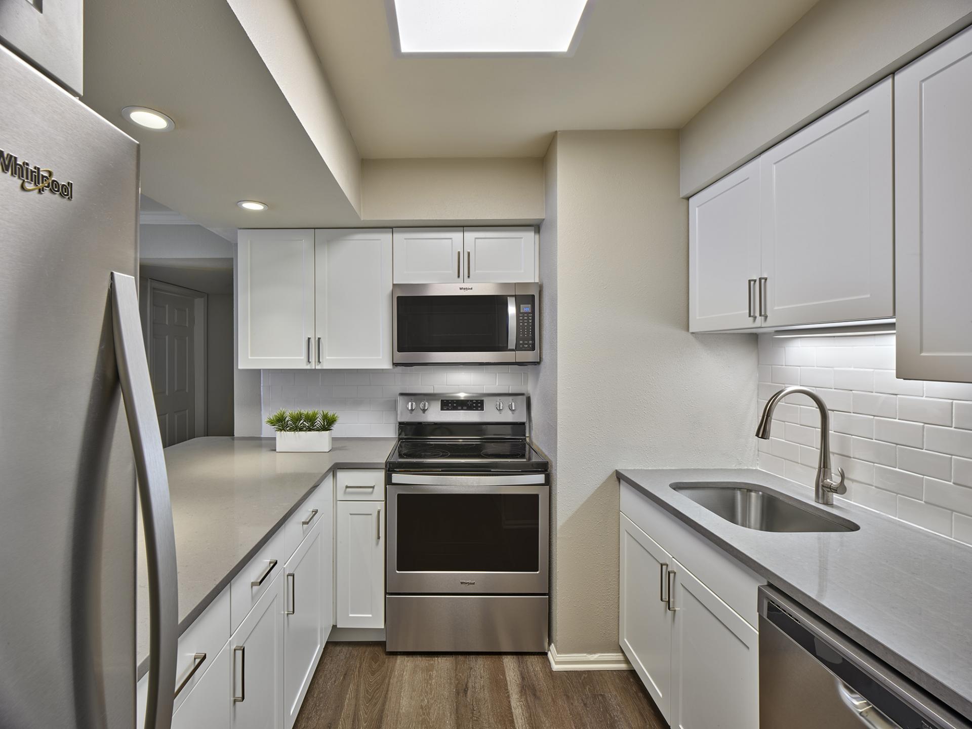 Kitchen at AVE Malvern Apartments