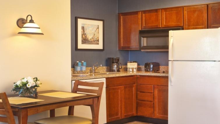 Practical kitchen in Residence Inn Boston Woburn