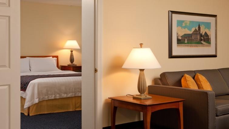 Relaxing living area in Residence Inn Boston Woburn