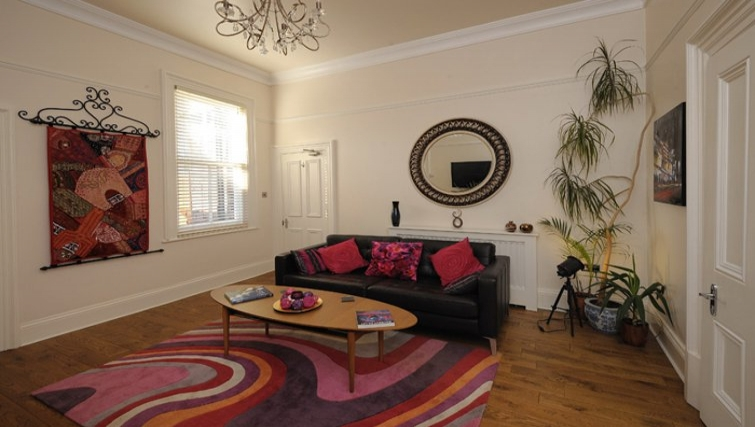 Charming living area in Westbourne Avenue Apartment