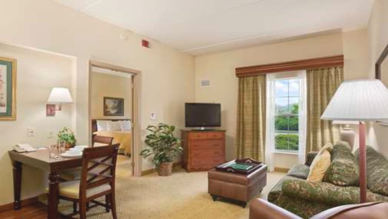 Charming living area in Homewood Suites Philadelphia Great Valley