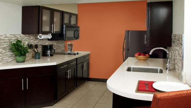 Modern kitchen in Staybridge Suites San Francisco Airport (San Bruno)