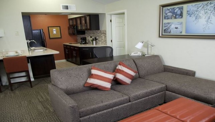 Desirable living area in Staybridge Suites Sunnyvale