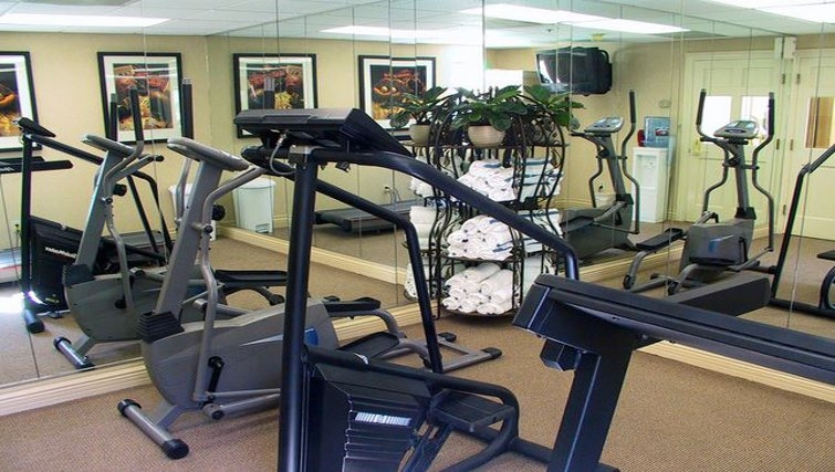 Practical gym in Staybridge Suites Sunnyvale